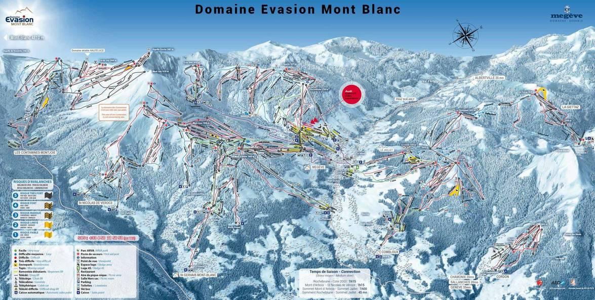 Plan Evasion Mont Blanc