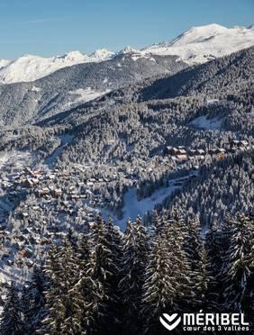 View skiing area Meribel | Méribel