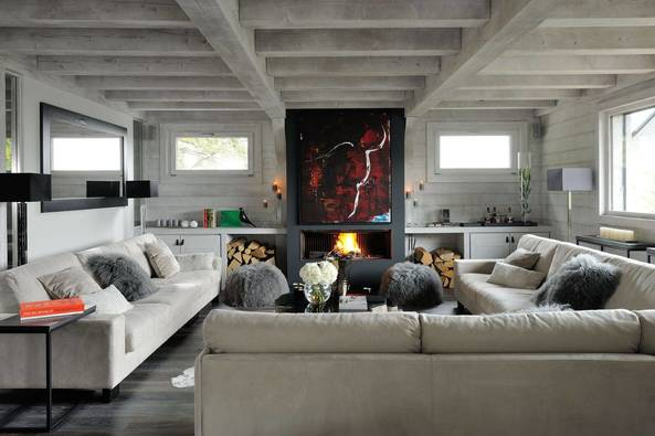 Grey Pearl Chalet in Megeve