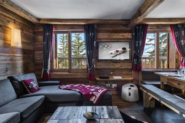 Ajacour Chalet in Courchevel