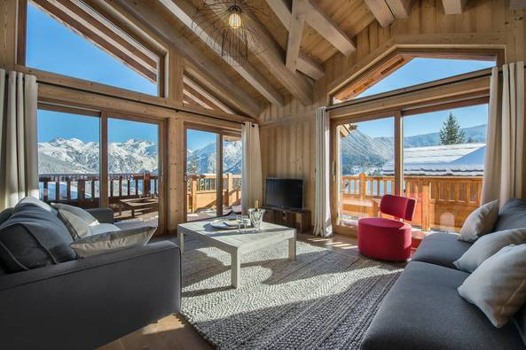 Ancolie Chalet in Courchevel