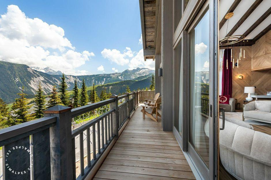 Vue du salon - Chalet Aurore - Courchevel