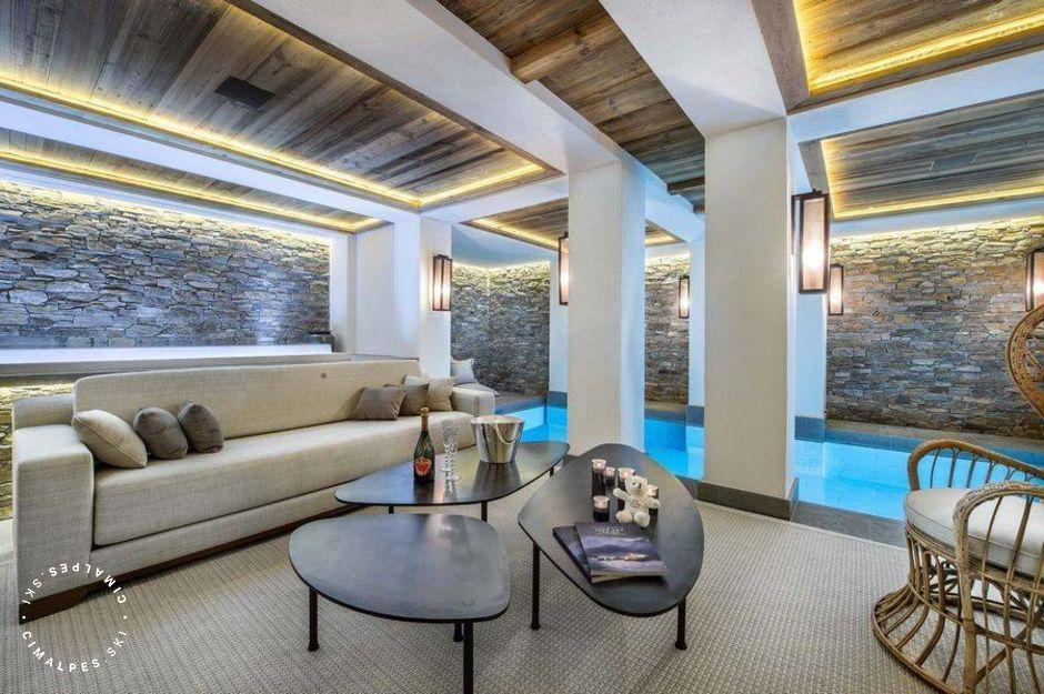Superbe Piscine - Chalet Cryst'Aile - Courchevel 1850
