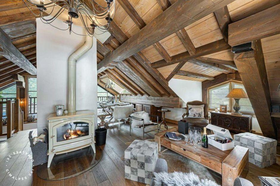 Salon | Apartment Jardins de Rosalie A3 | Courchevel Le Praz