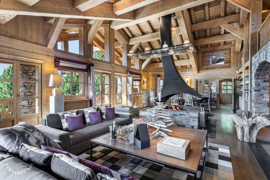 Salon | Chalet Everest | Courchevel 1850