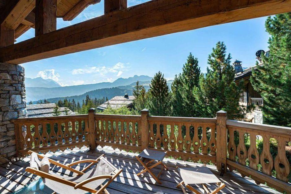 Terrasse | Chalet Everest | Courchevel 1850