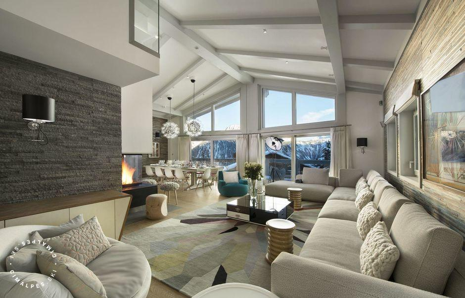 Salon - Chalet Pow Pow - Courchevel