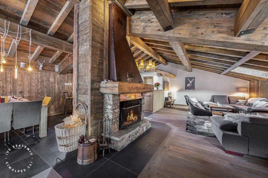 Chalet Etagne - Courchevel Le Praz - Salon