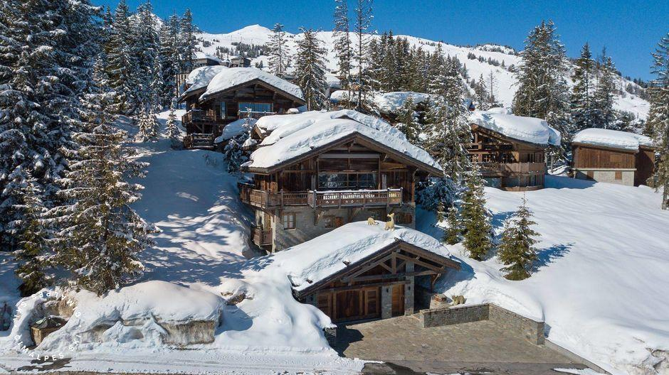 Rent luxury chalet grande roche courchevel cimalpes