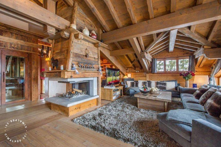 Salon Chalet Aspen Courchevel 1850