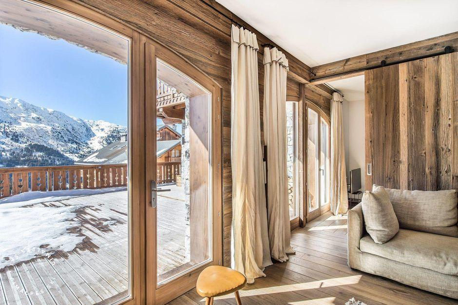 Vue depuis le salon - Appartement Aspen Lodge 11 - Méribel