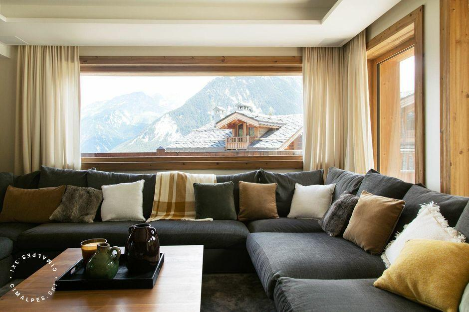 Salon - Chalet Le 1550 - Courchevel Village