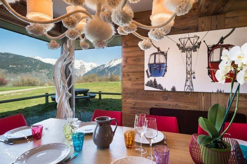 Appartement Pure 1 | Courchevel Le Praz | Salon