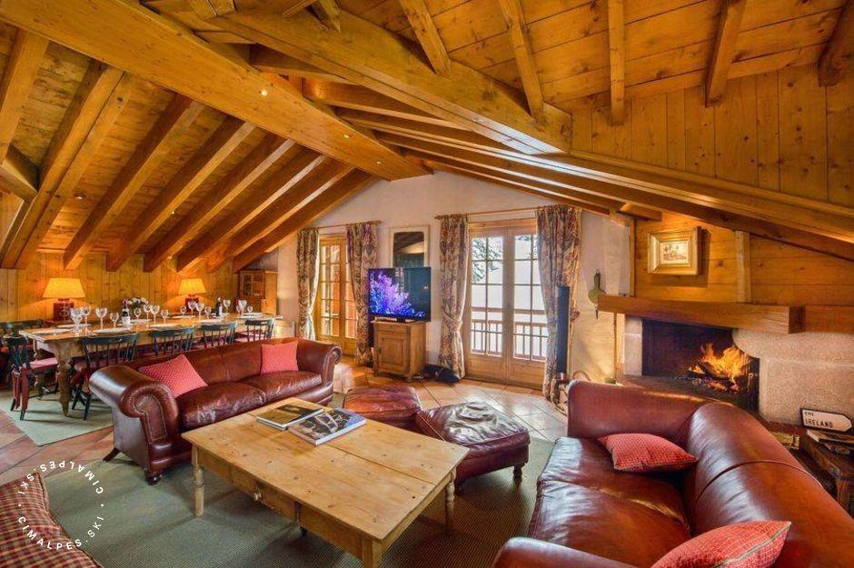 Grand Salon - Chalet Desirade - Courchevel 1850