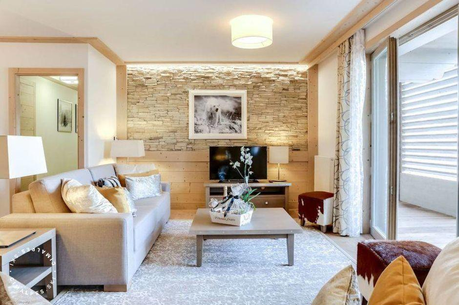 Salon - Appartement Carré Blanc 121 - Courchevel Village