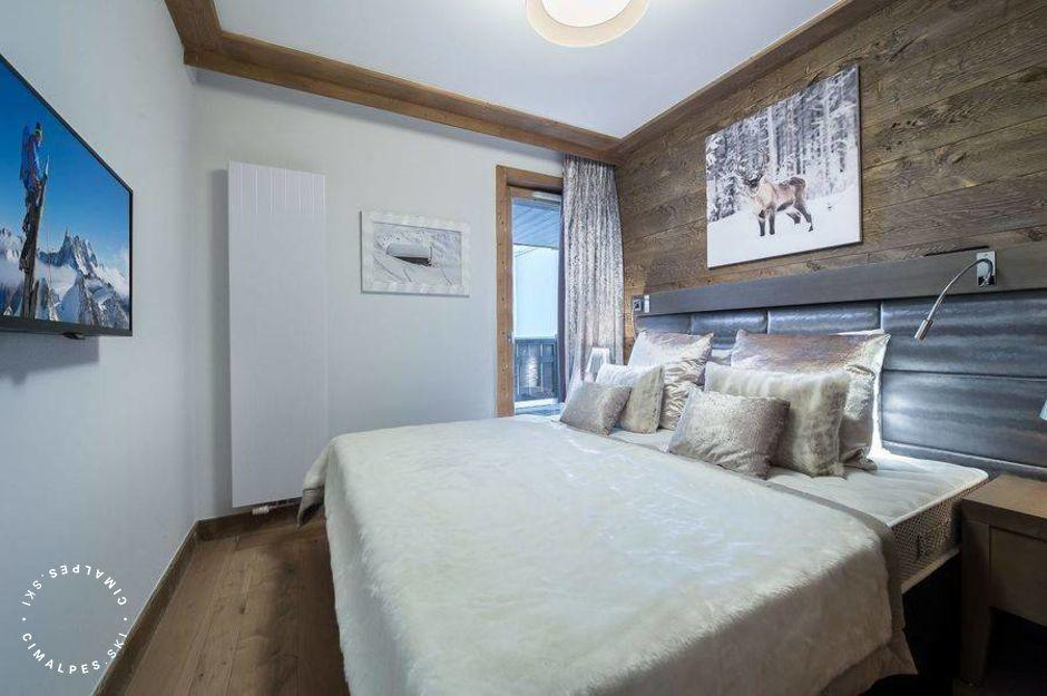 Chambre - Appartement Carré Blanc 234 - Courchevel Village