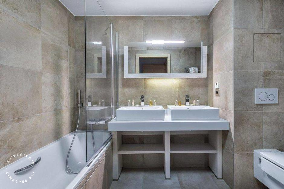 Salle de bain - Appartement Carré Blanc 235 - Courchevel Village