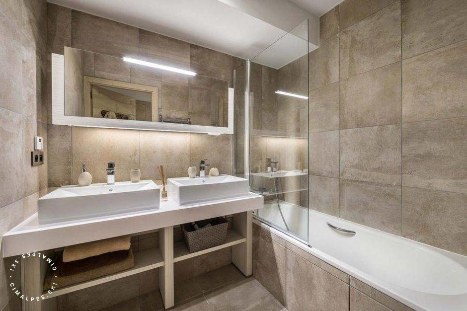 Salle de bain - Appartement Carré Blanc 245 - Courchevel Village