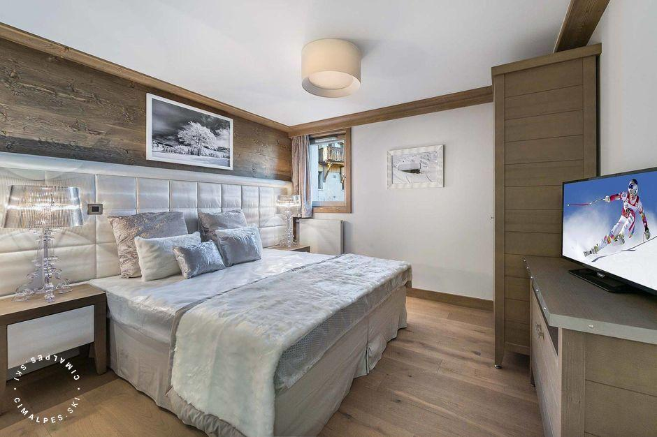 Chambre - Appartement Carré Blanc 131 - Courchevel Village