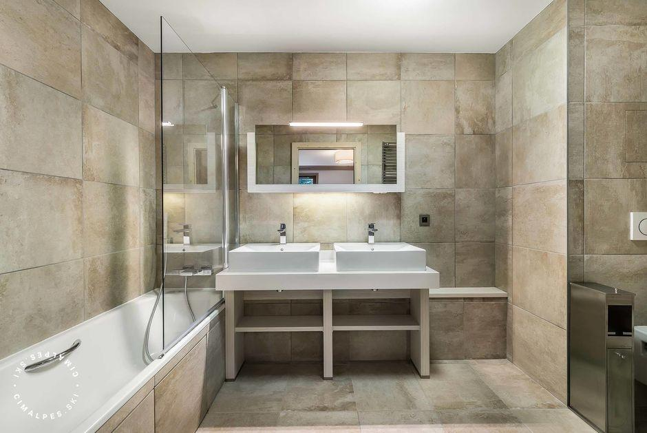 Salle de bain - Appartement Carré Blanc 110 - Courchevel Village