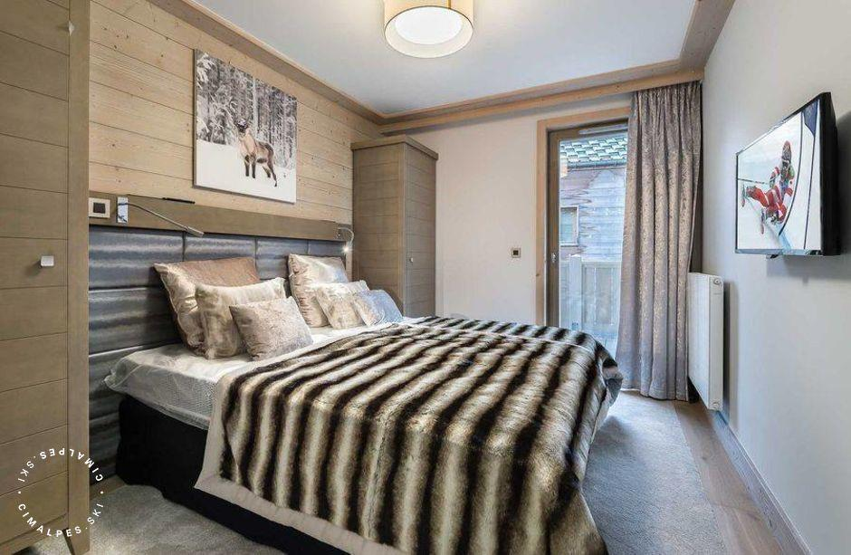 Chambre - Appartement Carré Blanc 242 - Courchevel Village