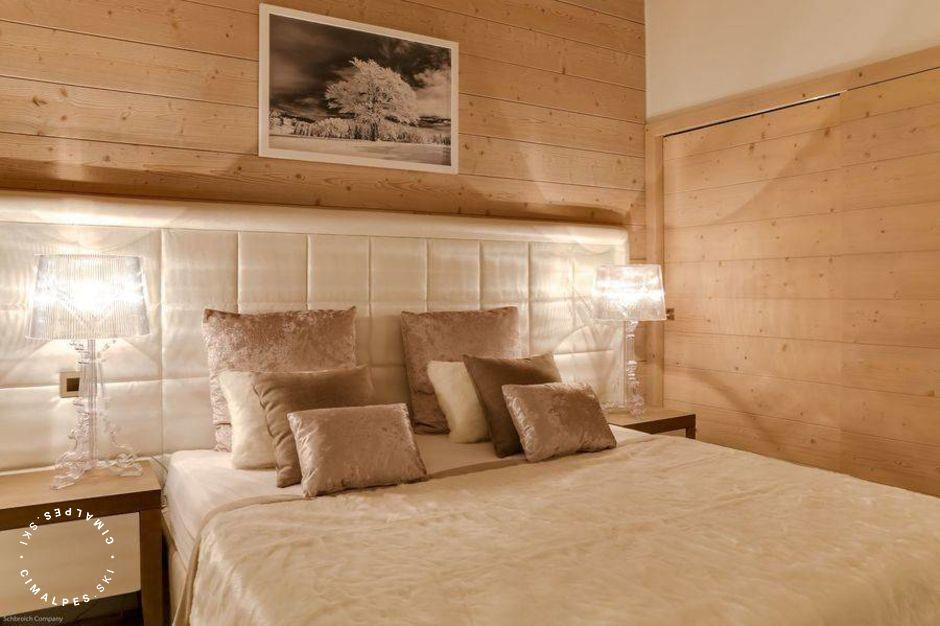 Chambre - Appartement Carré Blanc 240 - Courchevel Village