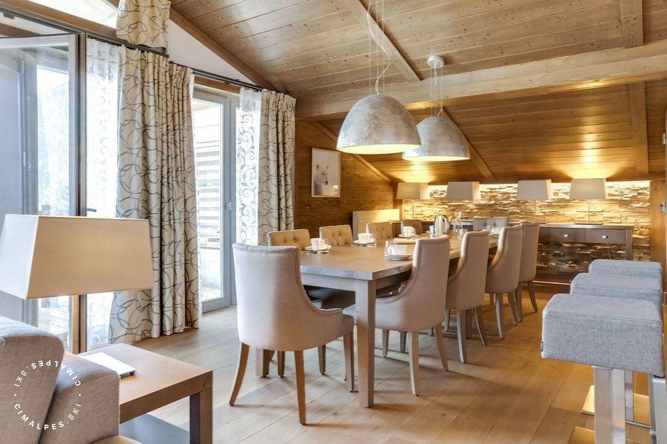 Salle à manger - Appartement Carré Blanc 141 - Courchevel Village