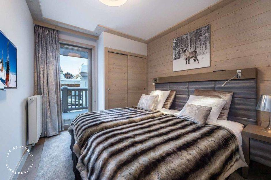 Chambre - Appartement Carré Blanc 246 - Courchevel Village