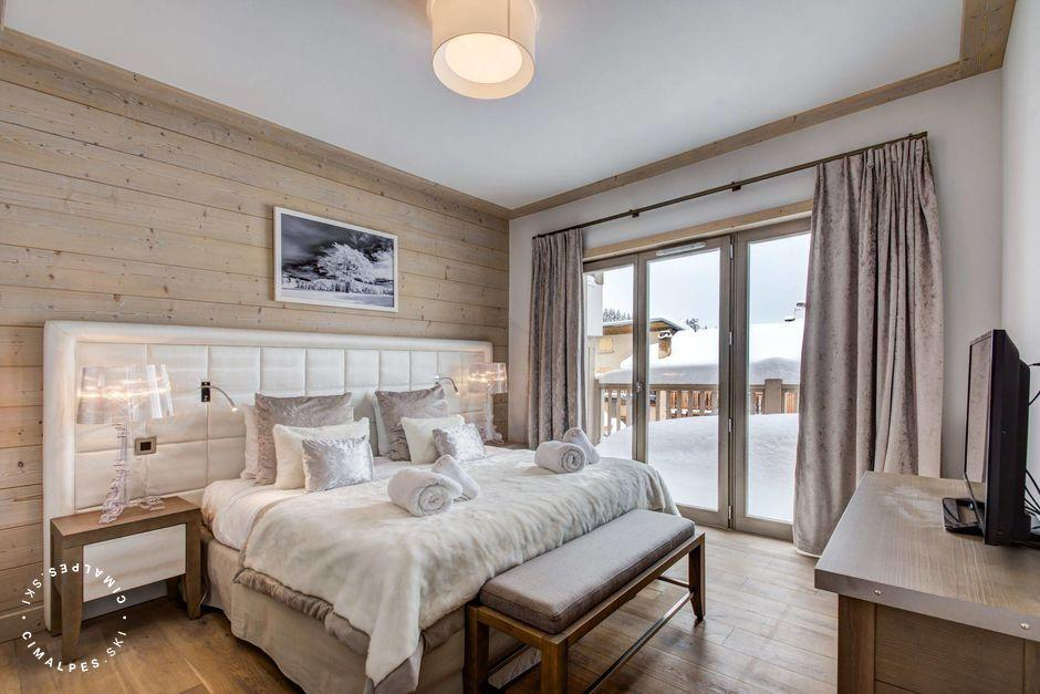 Chambre - Appartement Carré Banc 361 - Courchevel Village