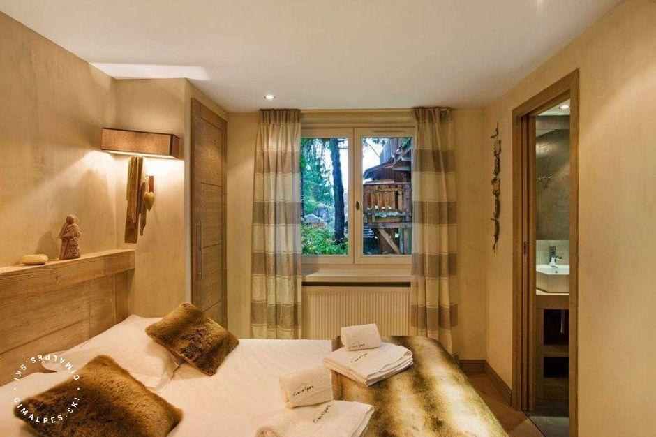 Chambre - Appartement Le Natou - Courchevel 1850