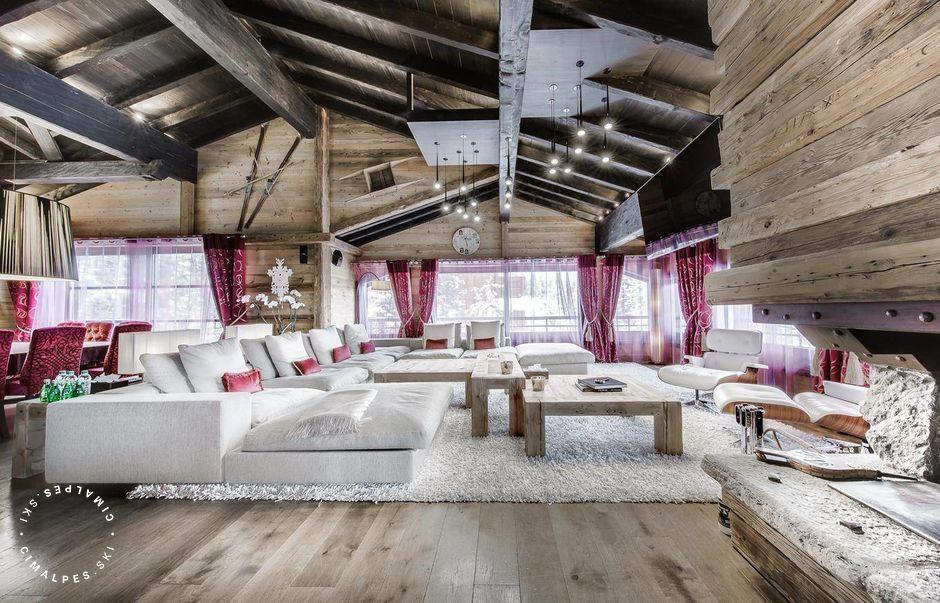 Grand salon - Chalet Black Pearl - Courchevel 1850