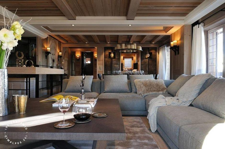 Salon - Chalet Rosalpina - Courchevel 1850