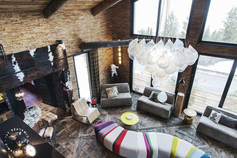 Salon - Chalet Sisimut - Courchevel Village