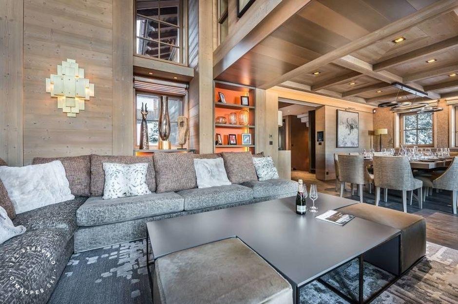 Salon - Chalet Elixir - Courchevel 1850