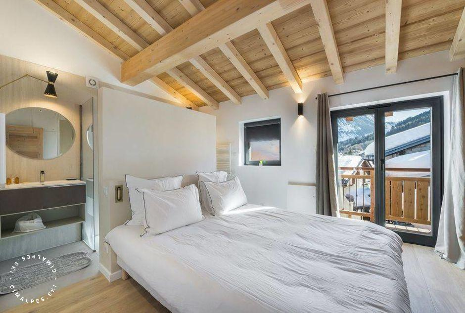 Chambre double - Chalet Patine - Courchevel Le Praz