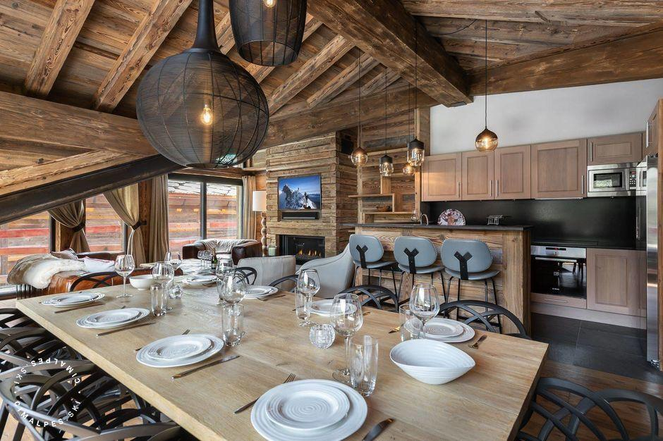 Coin repas | Appartement Tapia B | Val d'Isère