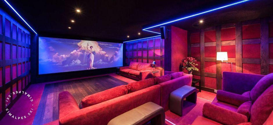Home Cinema - Chalet Greystone - Courchevel 1850