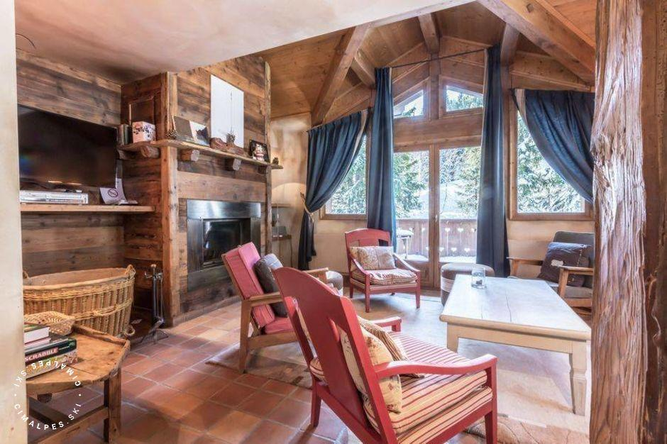 Salon - Chalet Alpinum - Courchevel