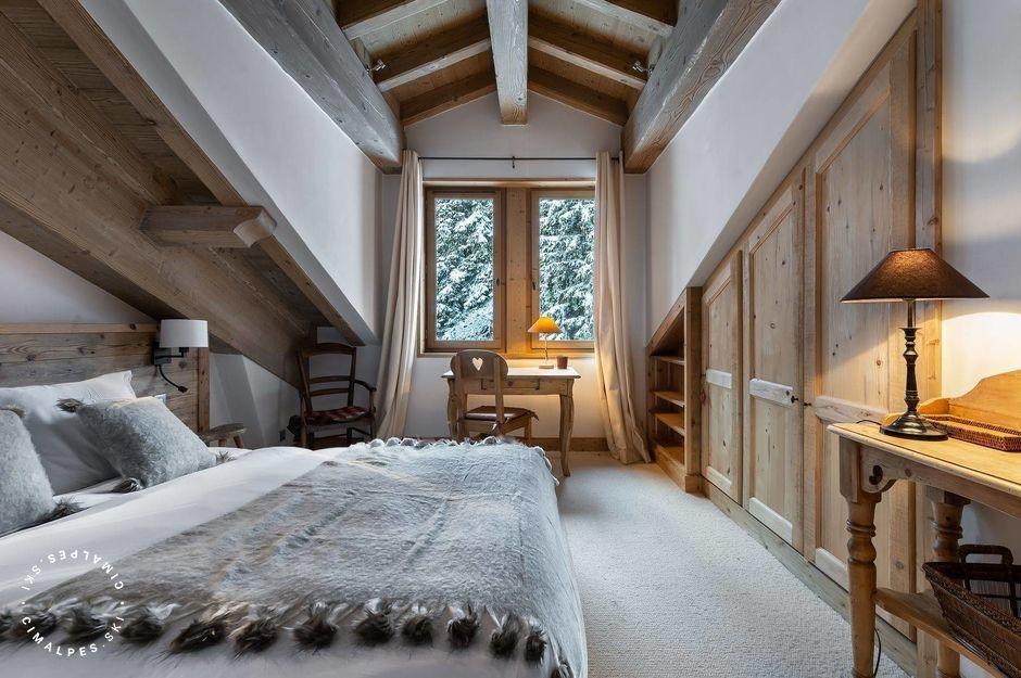 Chambre - Appartement Chanteloup 5 - Courchevel 1850