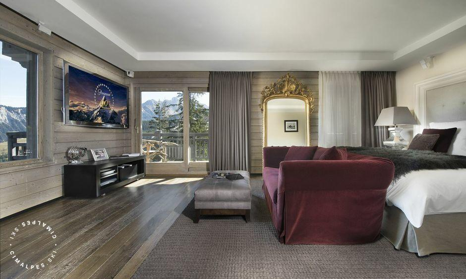 Terrasse - Chalet Rocher - Courchevel 1850