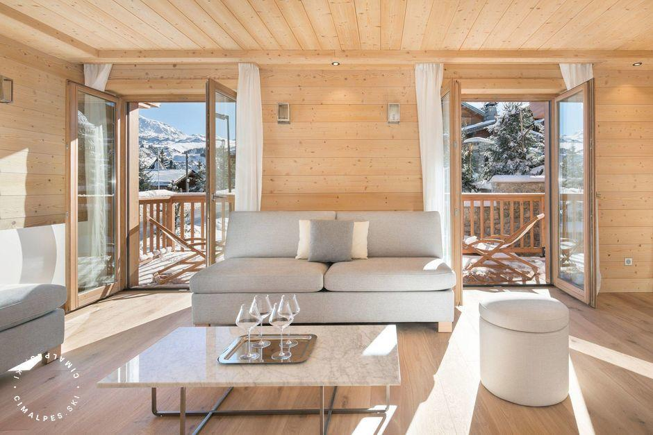 Salon - Chalet Gelinotte 2 - Courchevel 1850