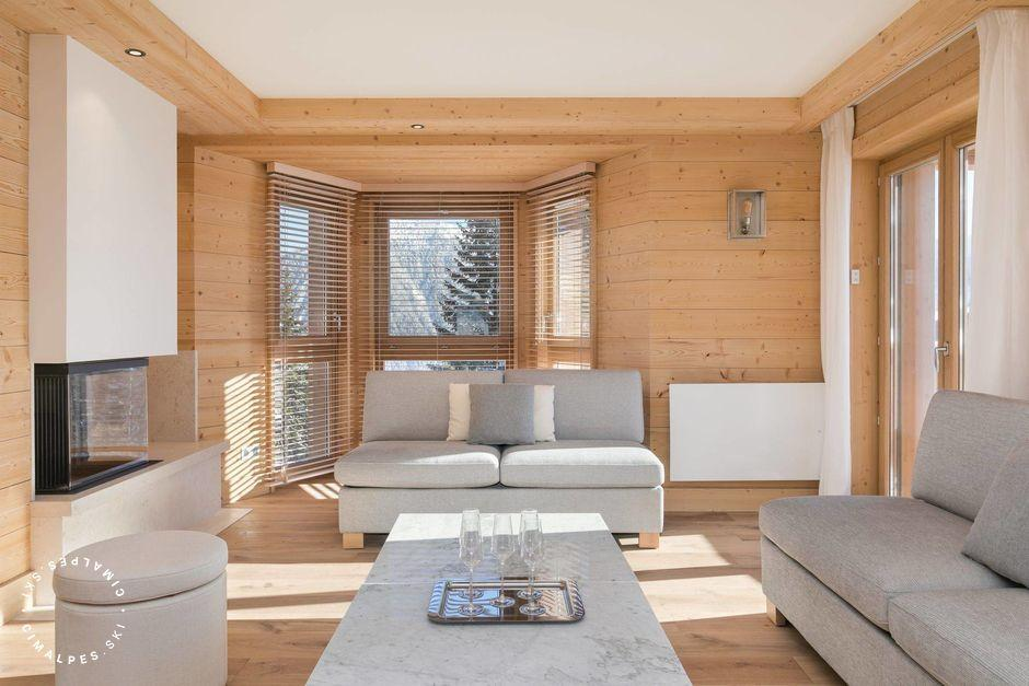 Salon - Chalet Gelinotte 3 - Courchevel 1850