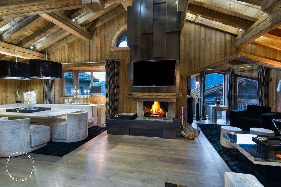 Salon - Chalet Carat - Courchevel 1850