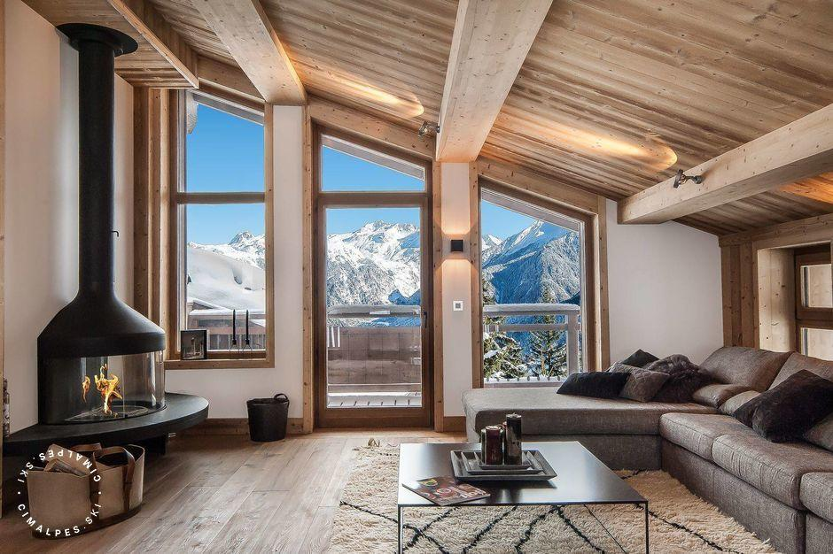 Salon - Chalet Eiger - Courchevel 1550