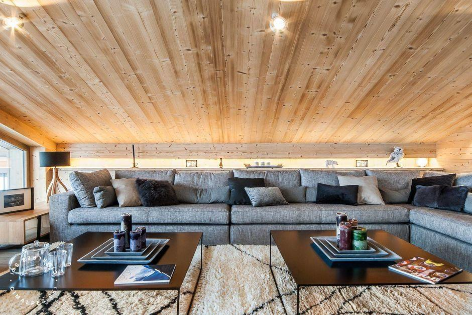 Salon - Chalet Monch - Courchevel 1550