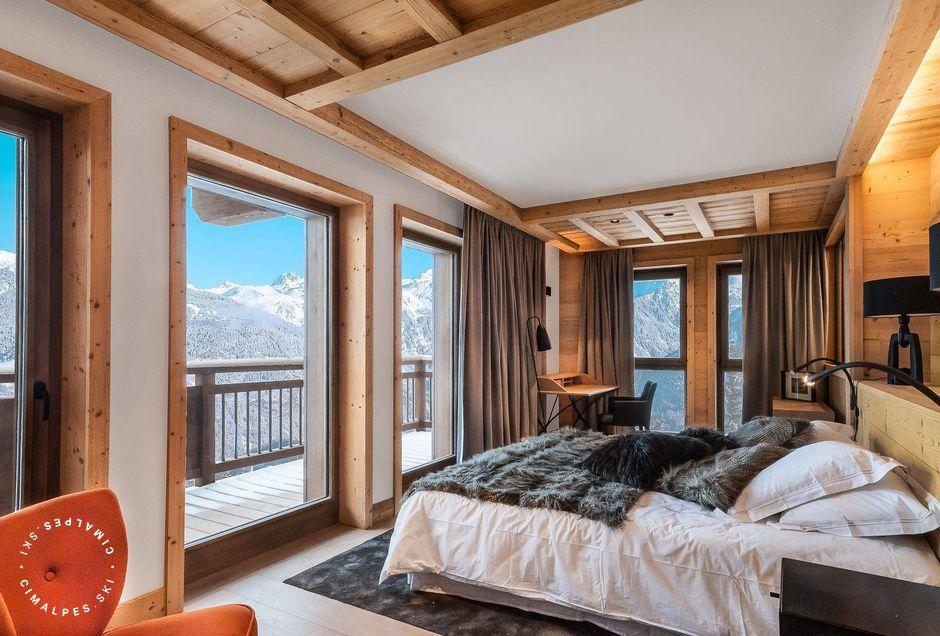 Chambre - Chalet Monch - Courchevel 1550