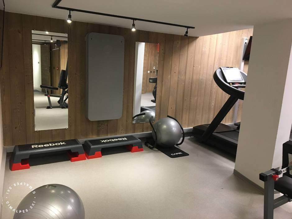 Courchevel 1550 - Carré Blanc Residence - Fitness Room