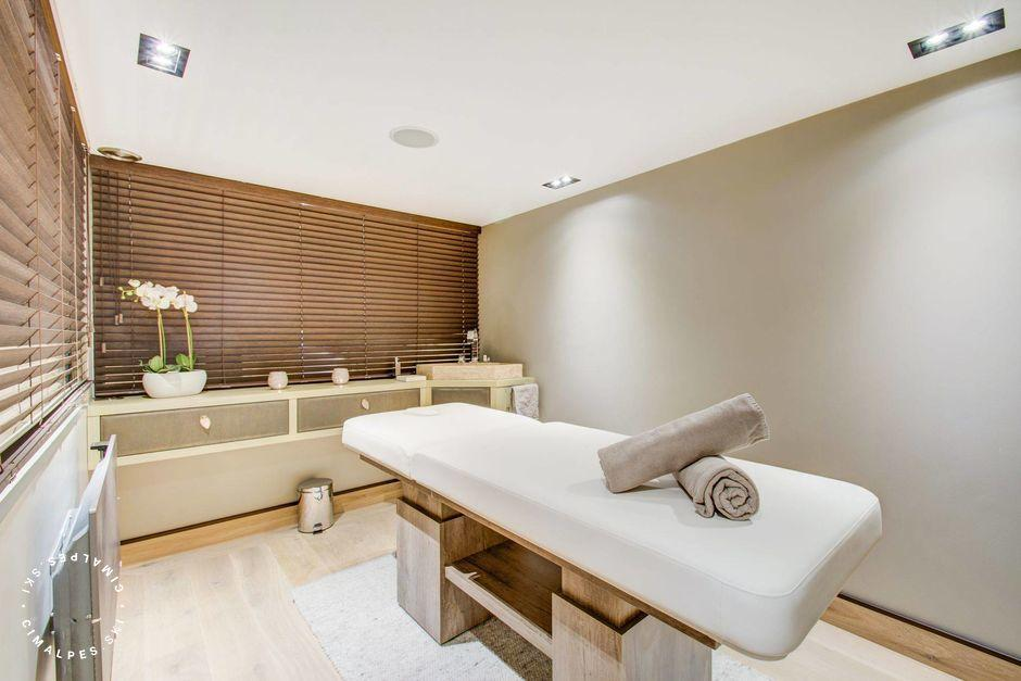 Chalet Blackstone - Massage room - Megeve