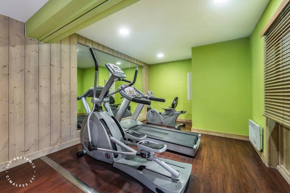 Gym Area - Pierre et Vacances Residence - Val d'Isère