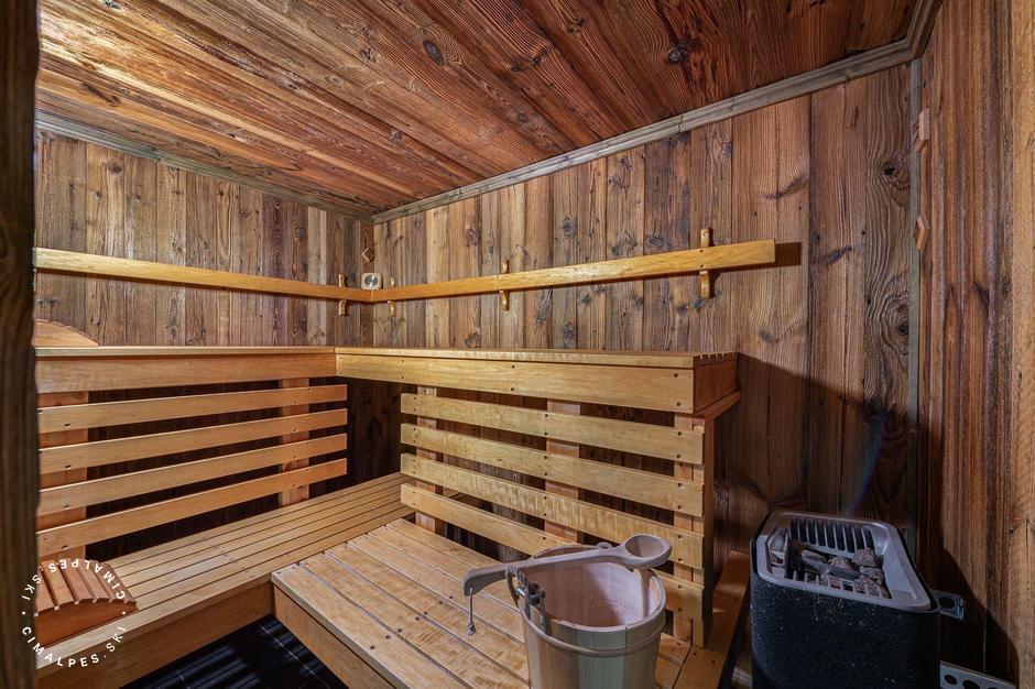 Sauna | Chalet Etagne |Courchevel Le Praz